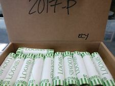 2017-P BU ROOSEVELT DIME BANK WRAPPED ROLL - SHIPS FOR FREE IN THE USA