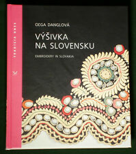 BOOK Folk Embroidery in Slovakia antique ethnic costume linen pattern lace kroj