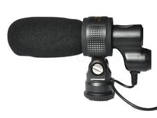 Q3 Shotgun Stereo Microphone For Canon 5DIII 7D 6D 60D 1DII 550D 750D 450D slr