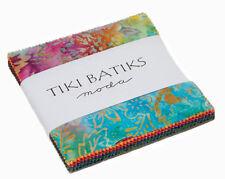 "Moda FABRIC Charm Pack ~ TIKI BATIKS ~ by Moda 5"" squares"