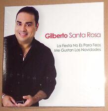 Gilberto Santa Rosa - La Fiesta No Es Para Feos /Me Gustan Las Navidades -Promo