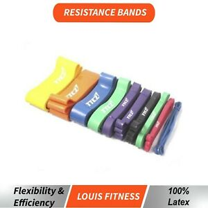 2.08mPOWER Heavy Duty RESISTANCE BAND GYM Fitness Workout Yoga Strength Exercise