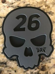 New  PXG Darkness Skull 26 Coaster / Putting Disk - Limited Issue