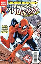 THE AMAZING SPIDER-MAN #546 SIGNED BY ARTIST STEVE MCNIVEN
