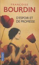 D'ESPOIR ET DE PROMESSE / FRANCOISE BOURDIN / POCKET