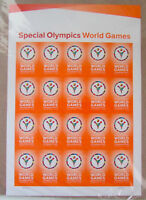 #4986 2015 Los Angeles Special Olympics World Games Sheet of 20 USPS Stamps MNH