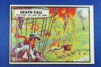 "1962 Topps Civil War News - #20 ""Death Fall"" - Ex/Mt Condition"