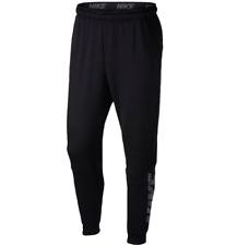 NIKE Training Dri-Fit Fleece Lightweight Tapered Pants sz Extra Large Black
