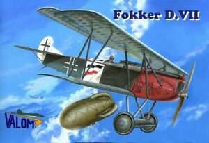 Valom Models 1/144 Fokker D.VII Dual Combo Kit