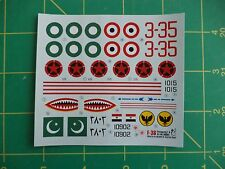 1:72 scale decals F-36 Shengjang F-6   Master Print Decals for kit No. 00061
