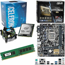 INTEL Celeron G3930 2.9Ghz, ASUS H110M-A/M.2 & 4GB 2133Mhz DDR4 RAM