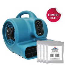 XPOWER P-450NT Scented Air Mover Fan w Ionizer & Timer+ 5 Freshener Bead Samples