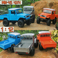 MN-45 1:12 2.4G 4WD Electric RC Crawler Off-road Truck Vehicle & Front Light