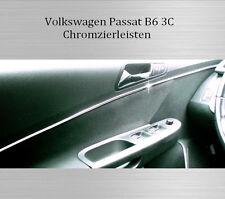 VW Passat 3C B6 - 3M Chrom-Leiste Zierleiste Chromleiste Türen Innen Vorne