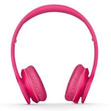 New Genuine Beats by Dr. Dre Solo HD Wired On Ear Headphones -  Matt Pink