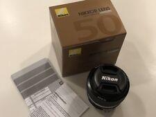 Nikon Nikkor Ai-S 50mm f/1.2 Lens NEW IN BOX!
