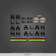 0311 Alan Bicycle Stickers - Decals - Transfers
