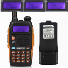 Baofeng GT-3TP MKIII 3800mAh Battery DualBand Tri-power 1/4/8W Ham Two-way Radio