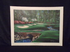Bobby Sikes Hole 13 Augusta Masters National Golf Limited Edition Litho