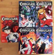 5 EO Neon-Genesis Evangelion Glénat 1998-2000 Tome 1 à 5
