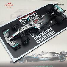 Spark 1/18 Mercedes Benz AMG 2019 F1 W10 EQ Power GP USA World Champion Hamilton