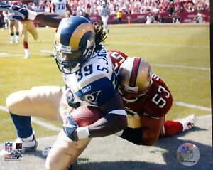 STEPHEN JACKSON  St. Louis Rams 8X10 ACTION PHOTO #1  ST. LOUIS RAMS