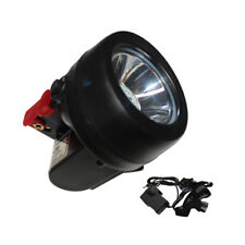 1W 3500Lx Miner Torch Cordless Light Mining Cap Lamp LED Head Hunt Safty WDMATE
