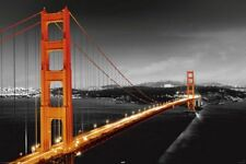 POSTER San Francisco Golden Gate Bridge 24x36 Studio B