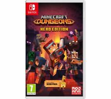 NINTENDO SWITCH Minecraft Dungeons Game 7+ Action-adventure - Currys