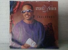"PC 7"" Single Stevie Wonder - Skeletons + Instrumental 1987 Motown Records Funk"