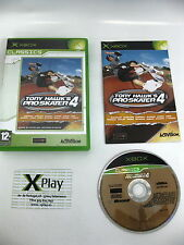 Xbox Tony Hawk Pro Skater 4 Pal España completo,buen estado