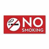 No Smoking Sticker Decal Window Sign Graphic Bin Car Safety