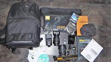 Nikon D5100 16,2 MP Digitalkamera - Schwarz Kit mit AF-S DX 18-55mm,18-105mm
