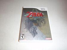 THE LEGEND OF ZELDA TWILIGHT PRINCESS NINTENDO Wii GAME COMPLETE