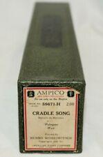 AMPICO Palmgren West CRADLE SONG Refrain de Berceau 59671-H Player Piano Roll