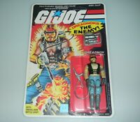 *RECARDED* 1985 GI Joe Cobra Torch Figure Complete Sealed *CUSTOM File Card Back