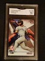 GEM MINT 10 2018 BOWMAN'S BEST #50 GLEYBER TORRES ROOKIE  PSA?