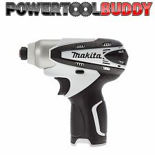 Makita TD090DZ White 10.8volt Li-ion Impact Driver Body Only