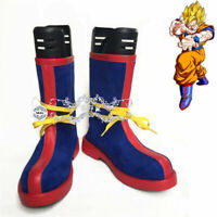 Dragon Ball Super Saiyan Son Goku Costume Cosplay Shoes Long Boots Halloween Cos