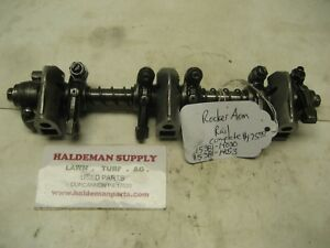 KUBOTA D1105 3 CYL DIESEL ENGINE ROCKER ARM AND RAIL  15381-14030 / 15381-14053