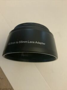 KODAK Step Up Ring 45.5mm to 55mm Lens Adapter Free Shipping