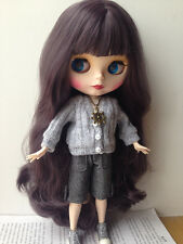"Takara 12"" Neo Blythe Nude Doll From Factory Long Hair Matte Face For Custom"