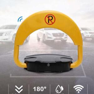 Private Car Parking Latch Space Saver Lock w Smart Remote Control Anti-collision