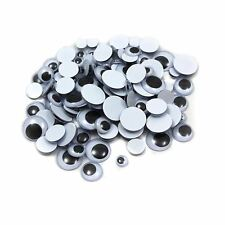 100 Googly Googley Eyes Black & White Wiggly Wobbly Art Craft Fun Kids Toys