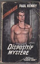 C1  Paul KENNY Dispositif Mystere FN ESPIONNAGE # 132 EO 1957 Epuise COPLAN