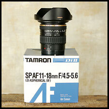Ultra Wide Canon EOS Digital fit Tamron SP Di2 11 18mm AF Zoom + Hood