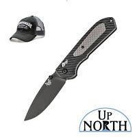 Benchmade 560BK Freek Knife S30V Black Blade Vesaflex Handle FREE HAT