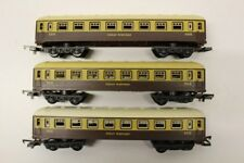 Lima Great Western Brown/Cream Coaches Rolling Stock Wagon HO Gauge Model V3