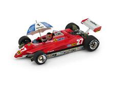Ferrari F1 126C2 #27 Brasile Gp 1982 Gilles Villeneuve BRUMM 1:43 R593-CHU Model