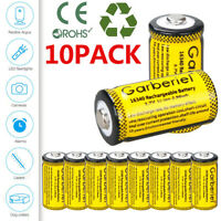 10PCS 16340 CR123A 3.7V Li-Ion Rechargeable Battery for Arlo Security Camera USA